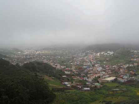 Mirador Jardina - Spitzenblick auf..also eigentlich La Laguna und den Teide
